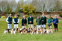 Joint Meet of The Oxford University Beagles and the Oakley Foot Beagles Illston